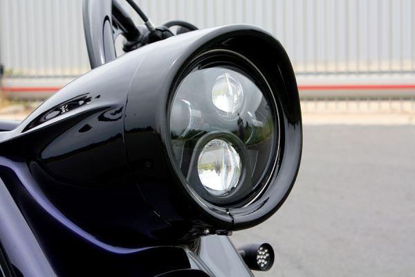 Scheinwerfer Stretchgehäuse für Road King
