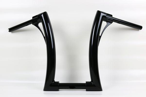 """2"""" Flow Bar Lenker extra tall, für Road King Special, mechan. Kupplung, für 1¼"""" Riser, schwarz"""