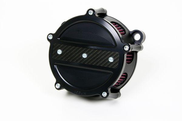 Luftfilter Carbon Line, alle Touring Modelle 2008-2017, schwarz eloxiert