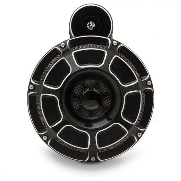 Arlen Ness horn kit, Sportster 07-17, schwarz