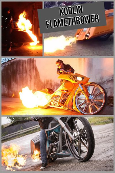 Kodlin Flame Thrower Kit / Flammenwerfer
