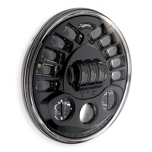 "J.W. Speaker LED Scheinwerfer 7"" adaptive, schwarz"