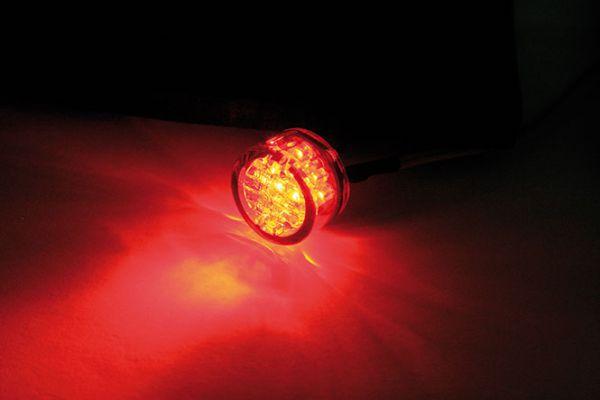 LED Taillight Mono, chrome