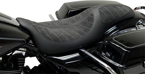Mustang / Kodlin Sitz, FL ab 2008 FLHR/X/T/TR, schwarz / schwarz