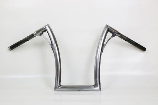 Flow-bar Lenker FAT, hoch, Breakout mit Gaszügen (OHNE E-Gas), roh