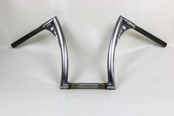 Bonanza Lenker FAT, hoch, für Softail Springer/Cross Bones Verjüngung 17 cm, roh