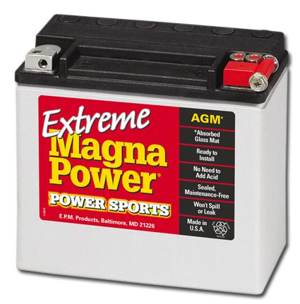 Magna Power Batterie, Softail 91-16