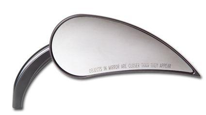 Arlen Ness Rad III Teardrop Mirror, schwarz rechts