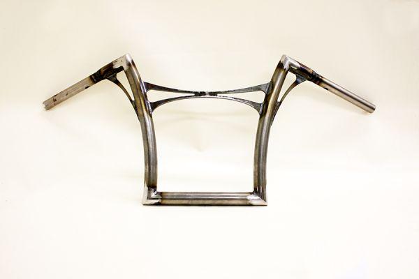 Flow-bar Lenker FAT, hoch, für Road King CVO 13-17 u. Road Glide CVO 13-14 , mit Querstrebe, roh
