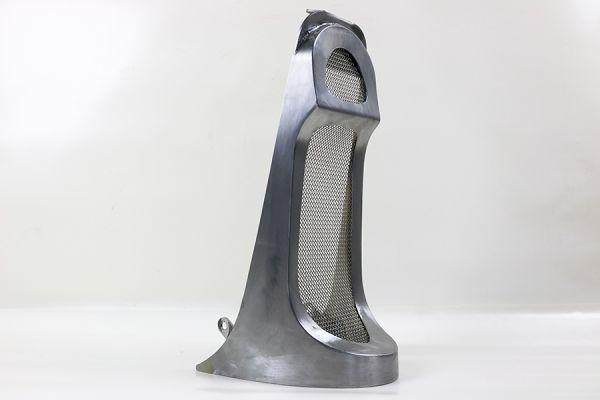 Frontspoiler, für Milwaukee 8 Softail Modelle ab 2018 außer FXDR, Stahl roh