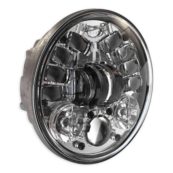 """J.W. Speaker LED Scheinwerfer 5 3/4"""" standard, verchromt"""