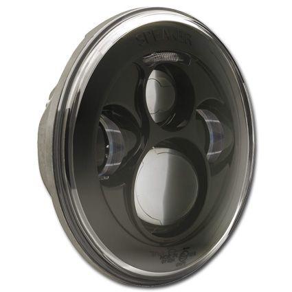 "J.W. Speaker LED Scheinwerfer 7"", schwarz"