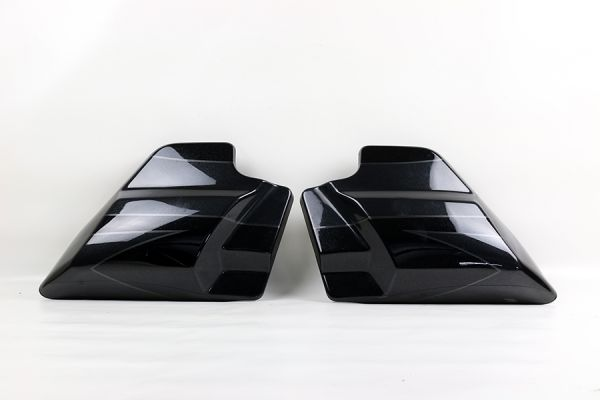 Seiten Cover Road Glide /Street Glide CVO 2017, black slate candy/arctic black