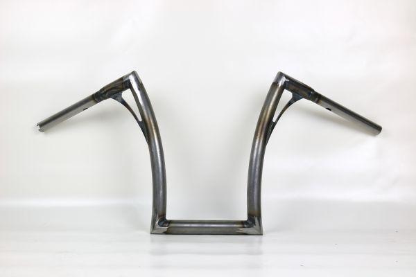 Flow-bar Lenker FAT, medium, Breakout mit Gaszügen (OHNE E-Gas), roh