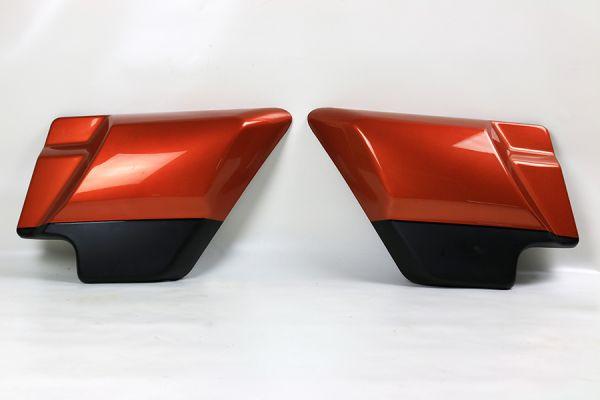 Seiten Cover Road Glide /Street Glide 2019, scorched orange