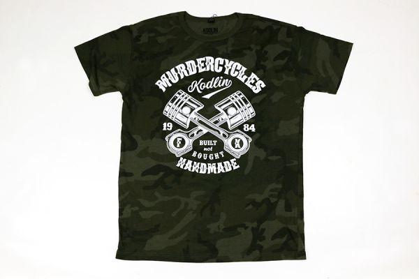 Kodlin Herren T-Shirt, built not bought, oliv camo