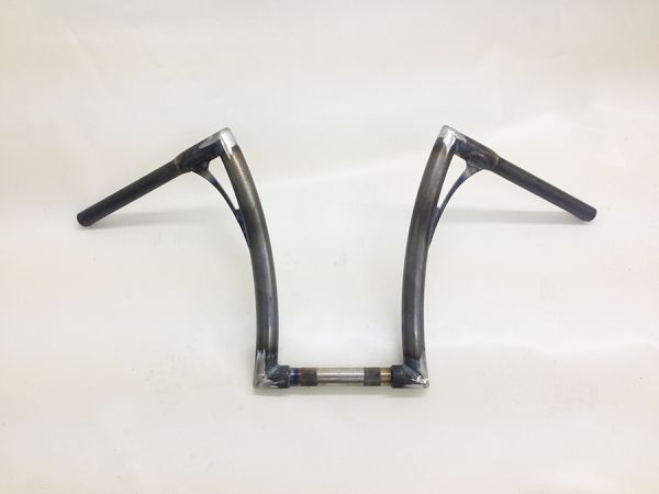 Flow-bar Lenker FAT, hoch, Road King / Road Glide 08 - 13, roh