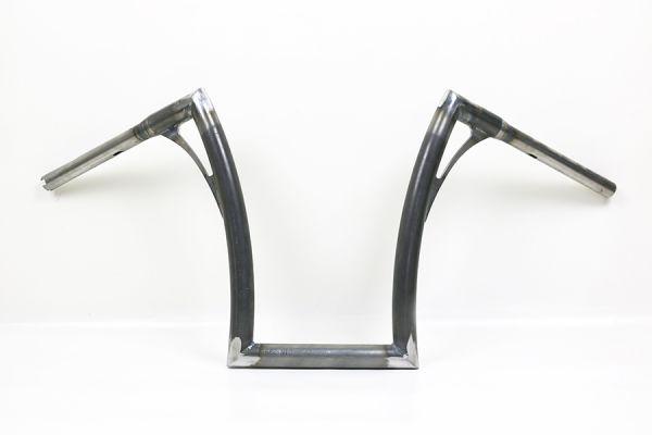 Flow-bar Lenker FAT, extra hoch, für Breakout mit Gaszügen, roh