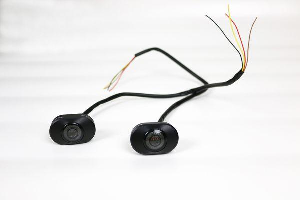 Sleek lights 3in1 Blinker/Stopp-Rücklicht, schwarz eloxiert, Set