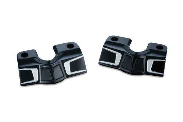 BAHN spark plug-head bolt covers, schwarz kontrast