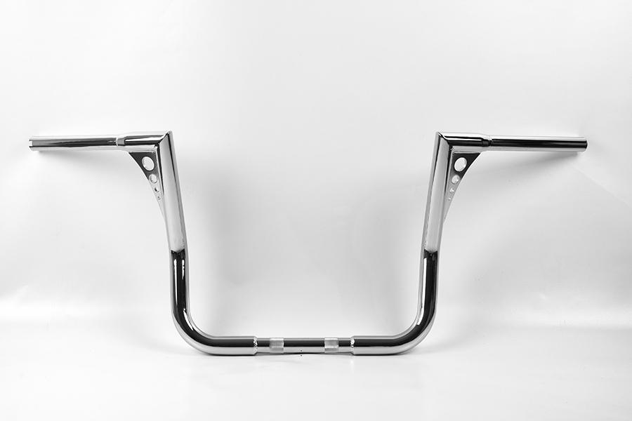 bonanza bagger lenker 12 hoch chrom street glide. Black Bedroom Furniture Sets. Home Design Ideas