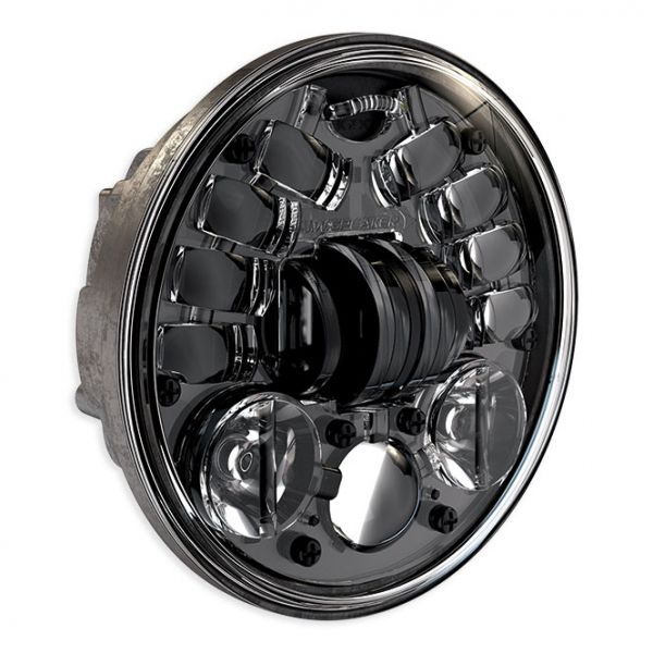 "J.W. Speaker LED Scheinwerfer 5 3/4"" standard, schwarz"